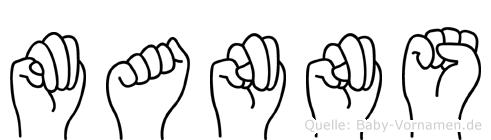 Manns im Fingeralphabet der Deutschen Gebärdensprache