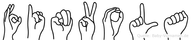 Finvola in Fingersprache für Gehörlose