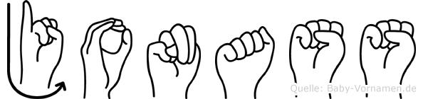 Jonass in Fingersprache für Gehörlose