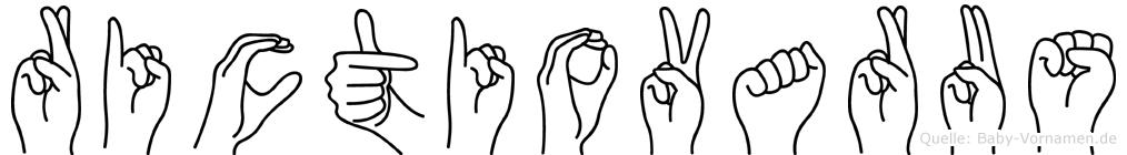 Rictiovarus in Fingersprache für Gehörlose
