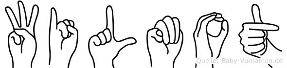 Wilmot im Fingeralphabet der Deutschen Gebärdensprache