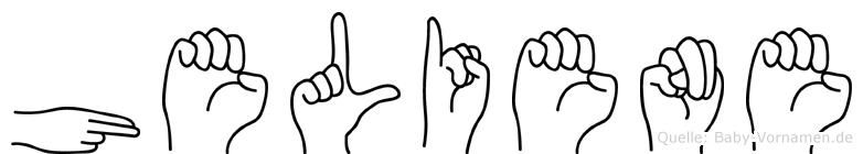 Heliene in Fingersprache für Gehörlose