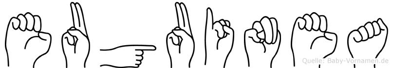 Euguinea in Fingersprache für Gehörlose
