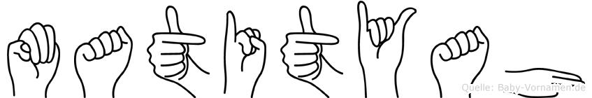 Matityah in Fingersprache für Gehörlose