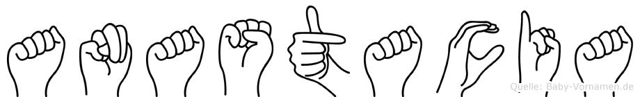 Anastacia in Fingersprache für Gehörlose