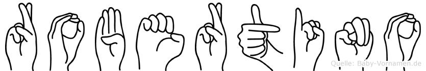 Robertino in Fingersprache für Gehörlose