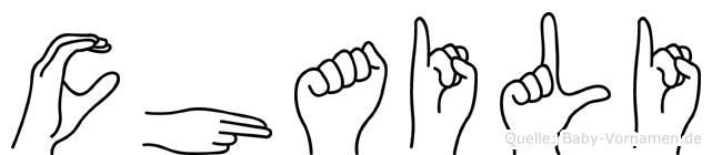 Chaili in Fingersprache für Gehörlose