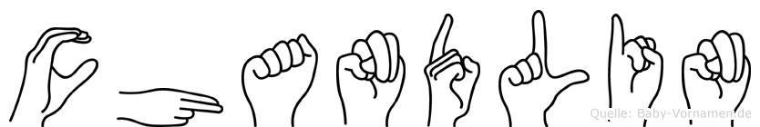 Chandlin in Fingersprache für Gehörlose