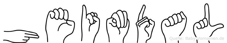 Heimdal in Fingersprache für Gehörlose