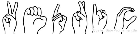 Vedric in Fingersprache für Gehörlose
