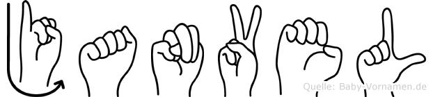 Janvel in Fingersprache für Gehörlose