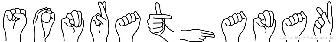 Sonrathanak im Fingeralphabet der Deutschen Gebärdensprache