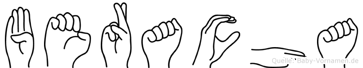 Beracha in Fingersprache für Gehörlose