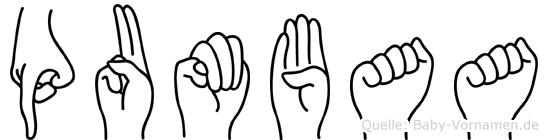 Pumbaa in Fingersprache für Gehörlose