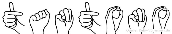 Tantono in Fingersprache für Gehörlose