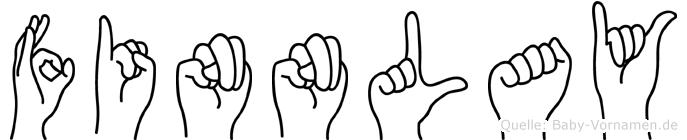 Finnlay in Fingersprache für Gehörlose