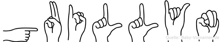 Guillyn in Fingersprache für Gehörlose