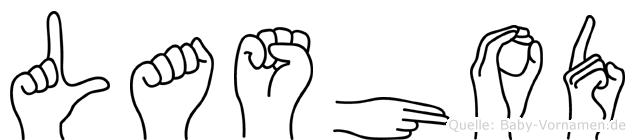 Lashod in Fingersprache für Gehörlose