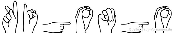 Kigongo in Fingersprache für Gehörlose