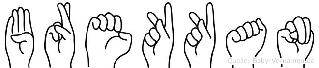 Brekkan in Fingersprache für Gehörlose