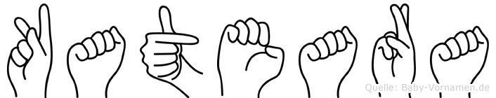 Kateara in Fingersprache für Gehörlose