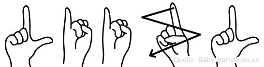 Liizl in Fingersprache für Gehörlose