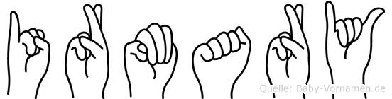 Irmary in Fingersprache für Gehörlose