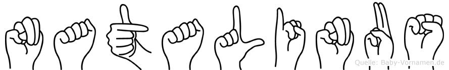 Natalinus in Fingersprache für Gehörlose