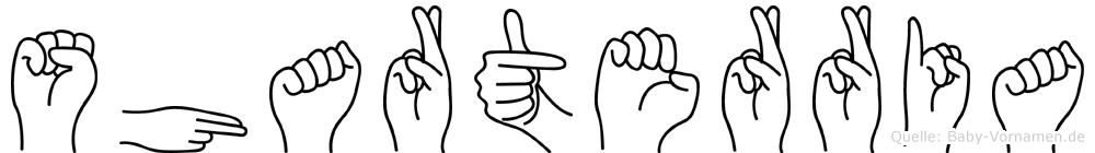 Sharterria in Fingersprache für Gehörlose