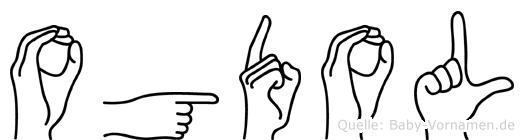 Ogdol in Fingersprache für Gehörlose