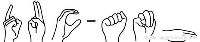 Duc-Anh im Fingeralphabet der Deutschen Gebärdensprache