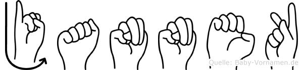 Jannek in Fingersprache für Gehörlose