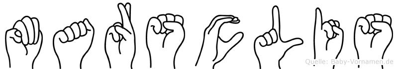 Marsclis in Fingersprache für Gehörlose