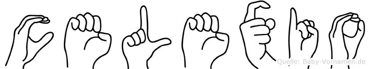 Celexio in Fingersprache für Gehörlose