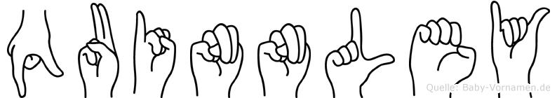 Quinnley in Fingersprache für Gehörlose