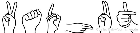 Vadhut in Fingersprache für Gehörlose