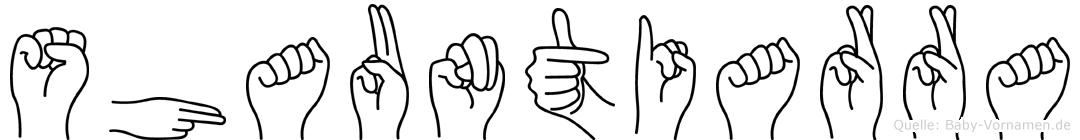Shauntiarra in Fingersprache für Gehörlose