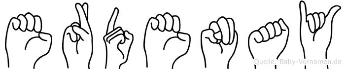 Erdenay in Fingersprache für Gehörlose
