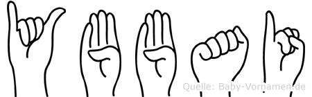 Ybbai in Fingersprache für Gehörlose