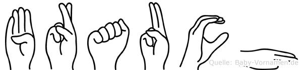 Brauch in Fingersprache für Gehörlose