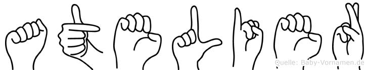 Atelier in Fingersprache für Gehörlose