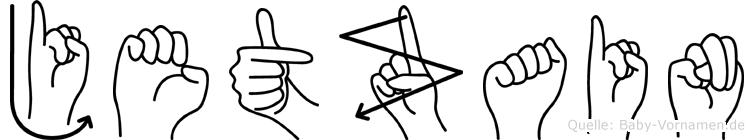 Jetzain in Fingersprache für Gehörlose
