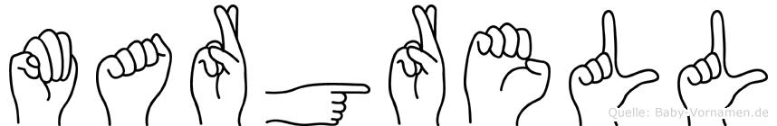 Margrell in Fingersprache für Gehörlose