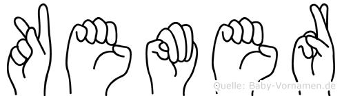Kemer in Fingersprache für Gehörlose