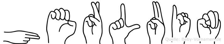 Herluin in Fingersprache für Gehörlose