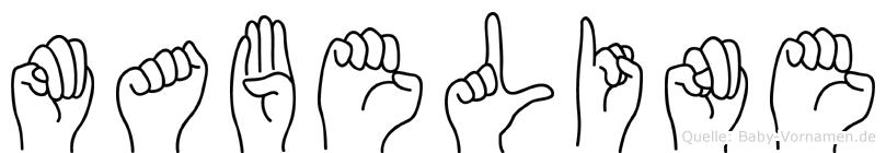 Mabeline in Fingersprache für Gehörlose