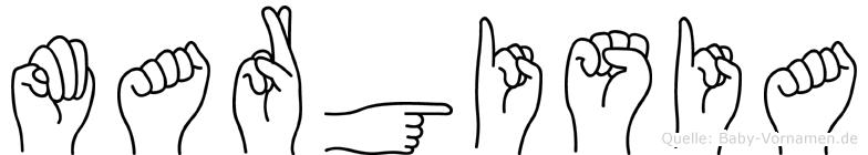 Margisia in Fingersprache für Gehörlose