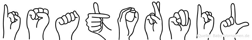 Isatornil in Fingersprache für Gehörlose