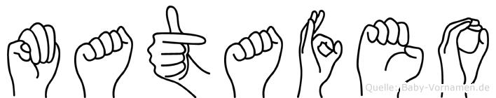 Matafeo in Fingersprache für Gehörlose