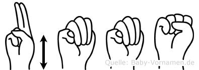 Ümmüs in Fingersprache für Gehörlose